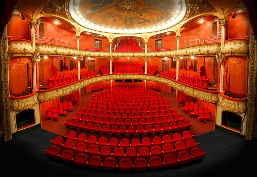 Plan du théâtre